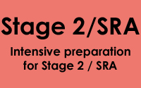 Stage 2 Crammer Course